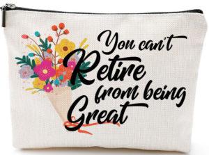 Retirement Makeup Bag Gift