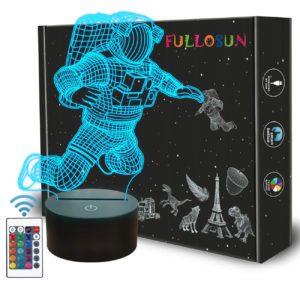 Spaceman 3D Night Light