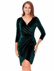Velvet Bodycon Dress - Gifts That Begin With V