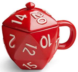 Ceramic Mug With Lid