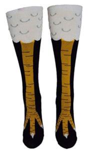 Chicken Legs Novelty Socks