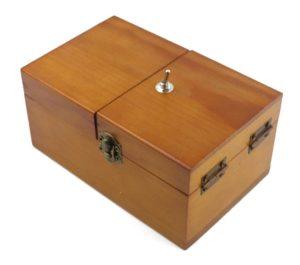 Wooden Useless Box