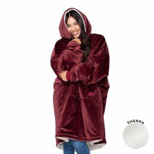 Wearable Sherpa Blanket