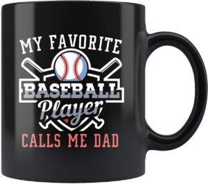 Baseball Dad Mug Gift
