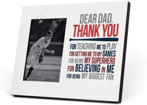 Baseball Dad Photo Frame