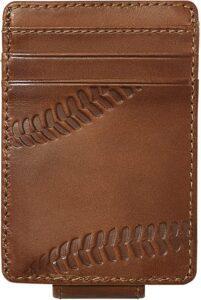 Baseball Front Pocket Wallet