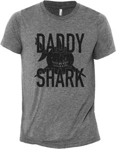 Daddy Shark T-Shirt Gift