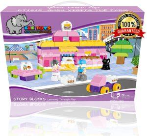 Ele Interlocking Building Block Toys
