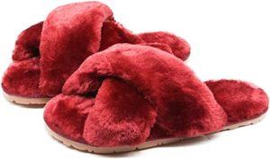 Fluffy Slippers For Her