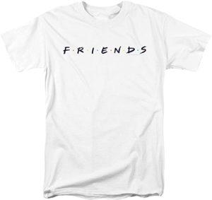 Friends Logo White T-Shirt