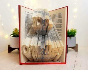 Graduation Folded Book Art
