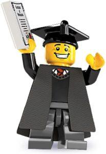 Lego Mini Figure Graduate - Keepsake Graduation Gifts For Him
