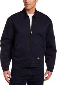 Men Insulated Front-Zip Jacket