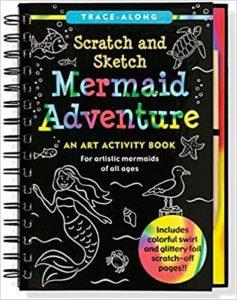 Mermaid Art Activity Book
