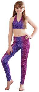 Mermaid Leggings For Girls