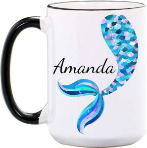 Personalized Mermaid Mug