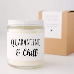 Quarantine Candle Jar