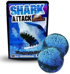 Shark Attack Bath Bombs