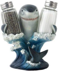 Shark Glass Pepper Shaker