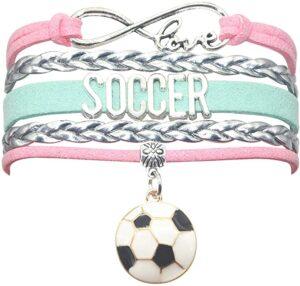 Soccer Ball Charm Bracelet