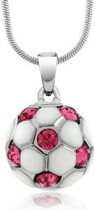 Soccer Ball Necklace For Girls