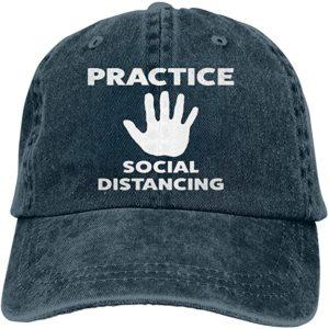 Unisex Social Distance Cap