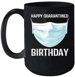 Social Distancing Birthday Mug