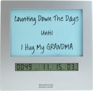 Social Distancing Countdown Clock
