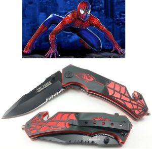 Spider Man Pocket Knife Set