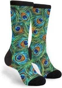 Unisex PeacockCrew Socks