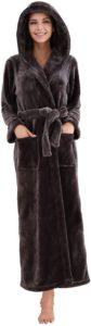 Women's Fleece Bathrobe