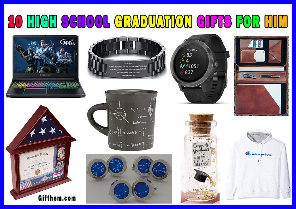 High School Graduation Gifts For Boys