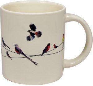 Birds Heat Changing Mug