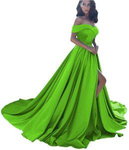Dressesonline Off Shoulder Prom Evening Dress