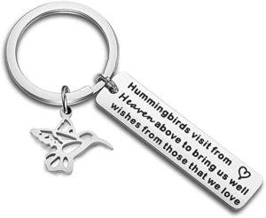 Hummingbird Keychain Gift