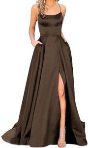 Jasy Women's Spaghetti Prom Dress