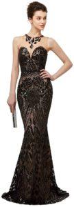 Leyidress Mermaid Prom Gown