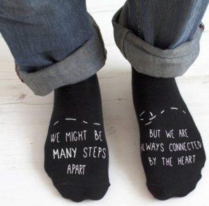 Long Distance Relationship Socks