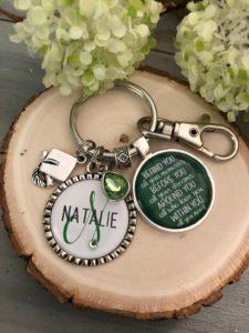 Personalized Graduation Keychain