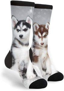 Unisex Huskies Dress Socks