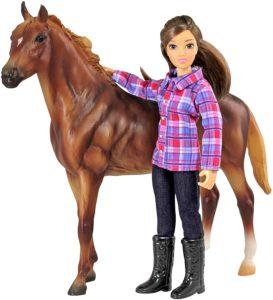 Horse & Rider Doll Set