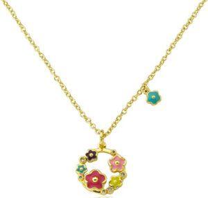 Flower Girl's Pendant Necklace