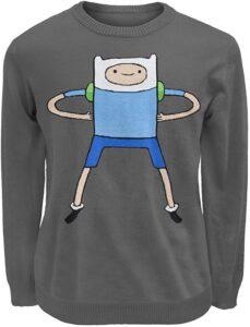 Adventure Time Finn Knit Sweater