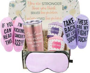Breast Cancer Awareness Gift Basket
