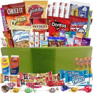 Snacks Gift Basket For Sick Child
