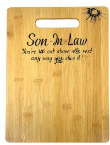 Son In Law Cutting Board Gift