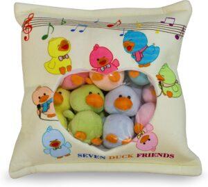 Ducky Friends Pillow Plush
