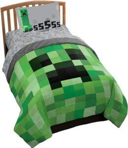 Minecraft Creeper Bed Set