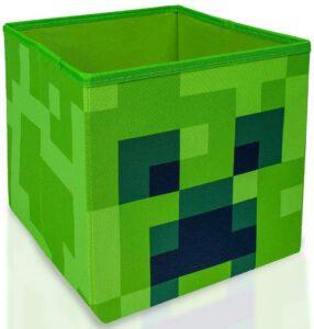 Minecraft Creeper Storage Cube