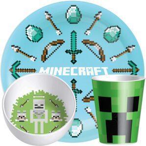 Minecraft Kids Dinnerware Set